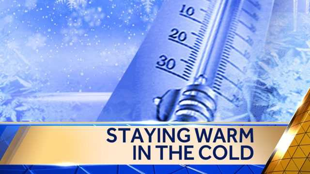 Image graphic - staying warm