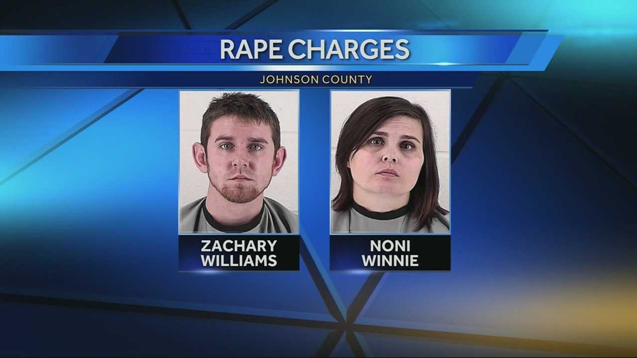Image Zachary Williams and Noni Winnie mug shots