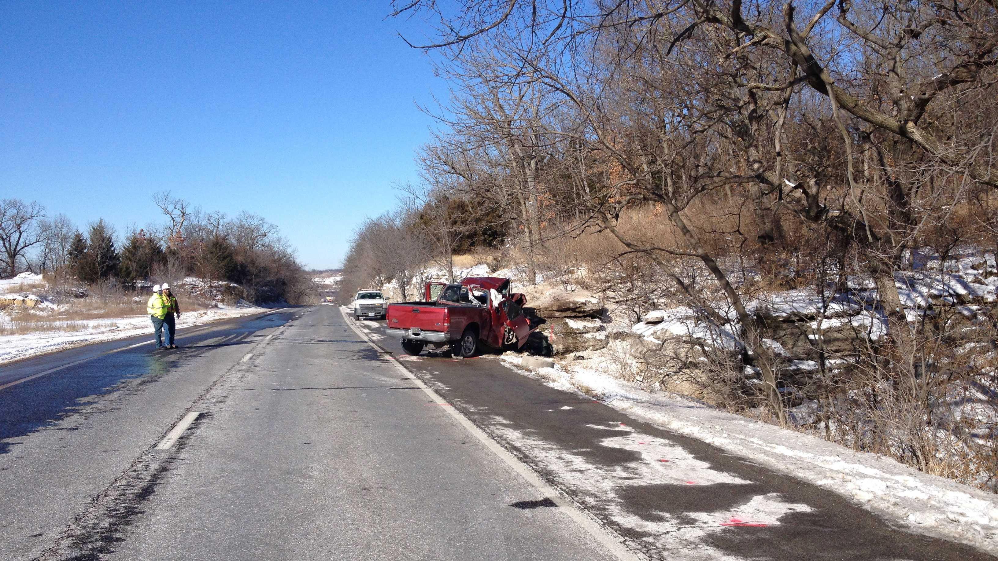 Highway 350 fatal crash