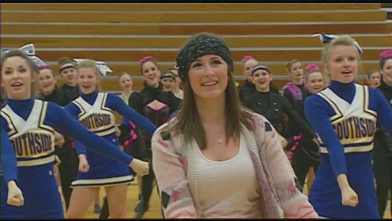 The school hosted a fundraiser for Blake Ephraim Saturday night.  KMBC 9's Matt Evans reports.