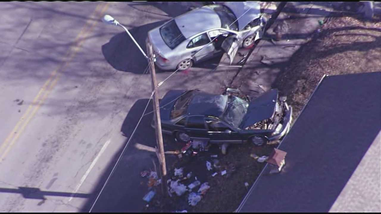 Bystander killed in crash following police chase 8