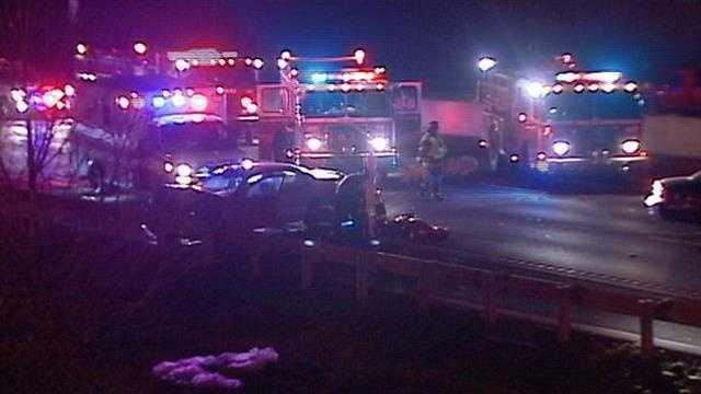 Fatal crash I-435, Bannister