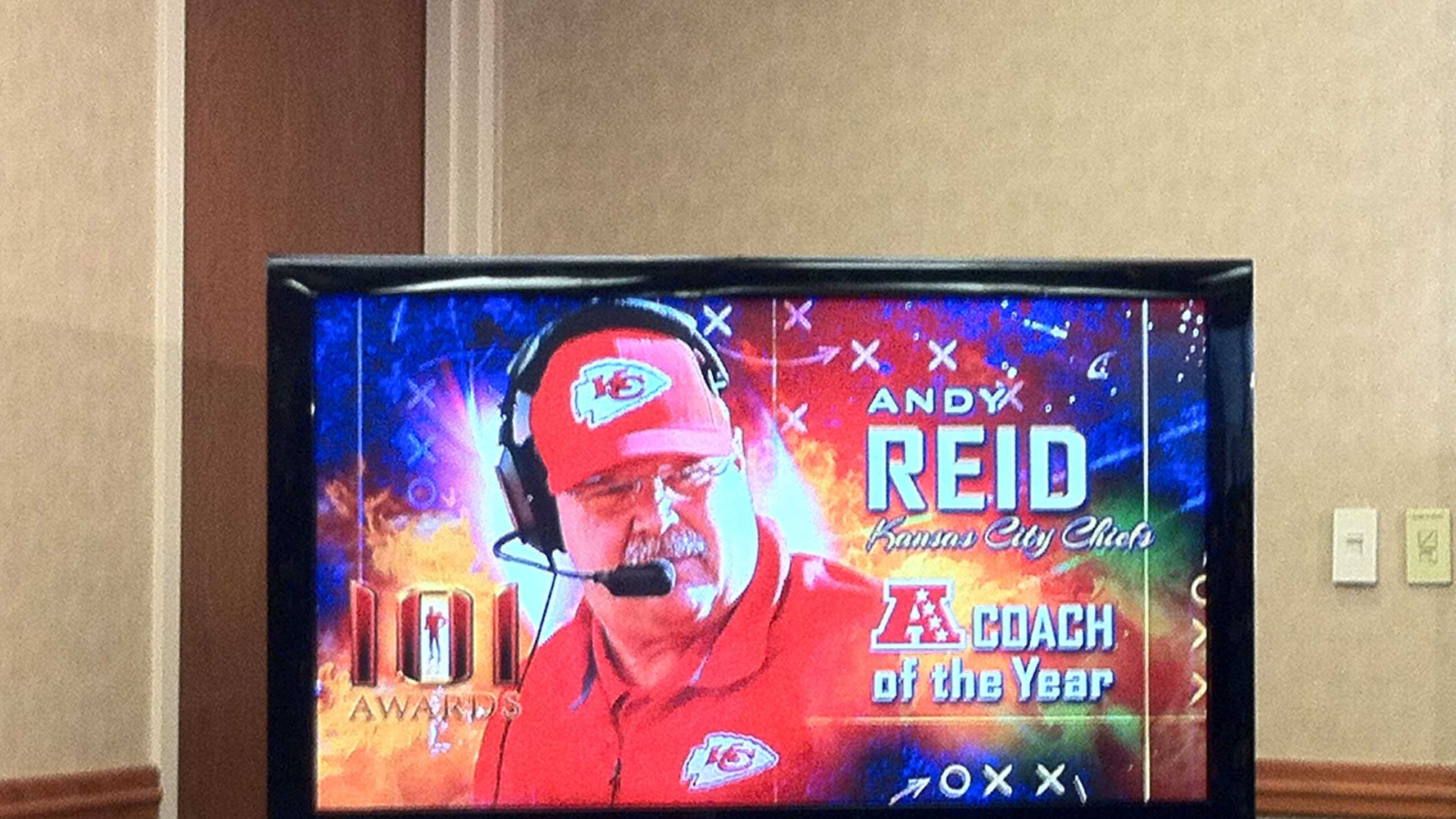 Andy Reid AFC coach of the year