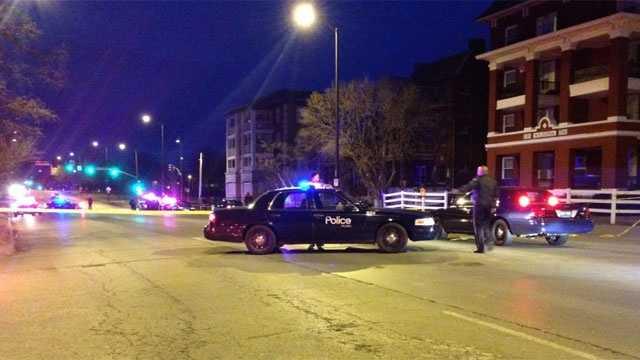 Image KCPD suspect injured