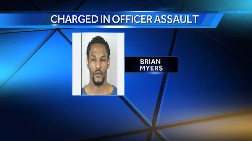 Man Charged With Assaulting Officer