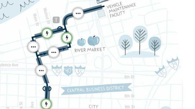 Image Streetcar map