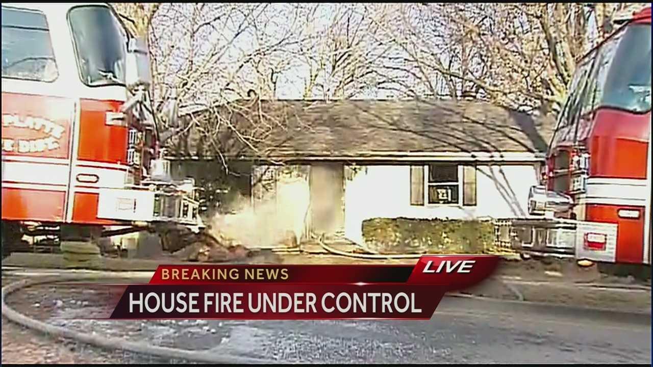 Platte County house fire