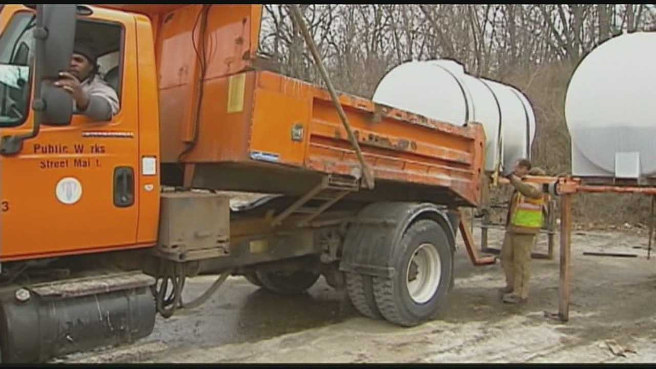 Image Brine truck salt truck Kansas City