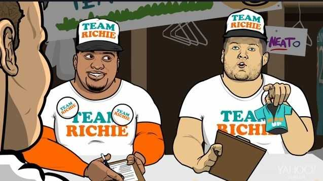 Richie Incognito keeps a sense of humor about bullying allegations.