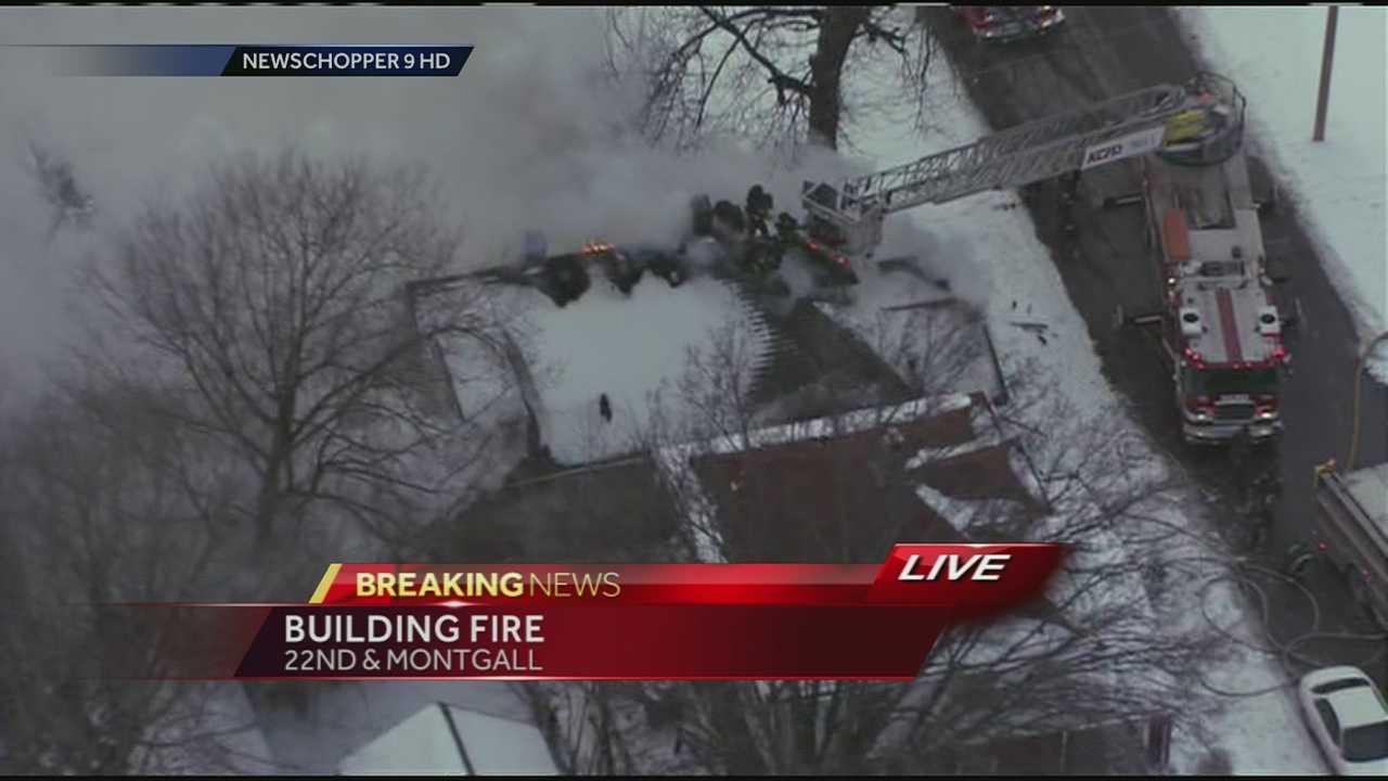 House fire E. 22nd