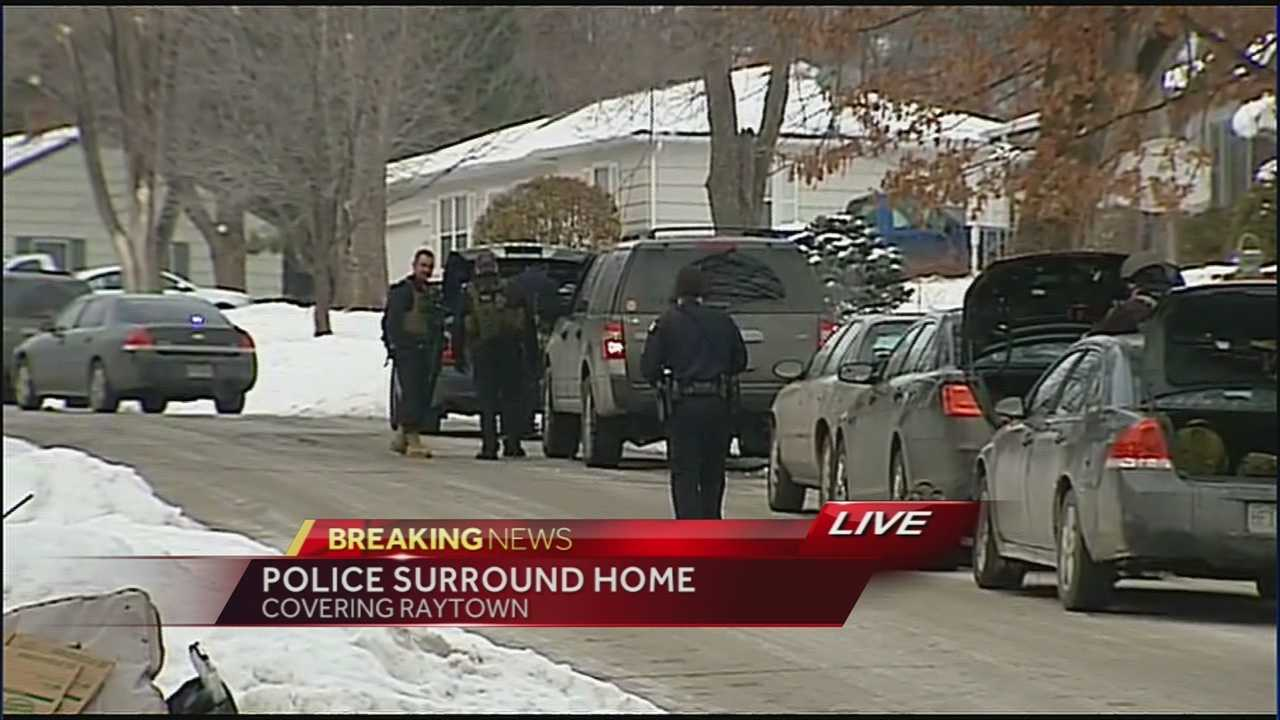 Image Standoff at Raytown home