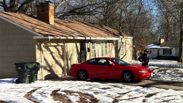 Image Drive-by shooting scene in Raytown
