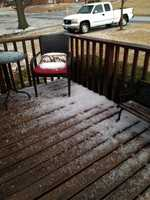 More hail pics from Paola