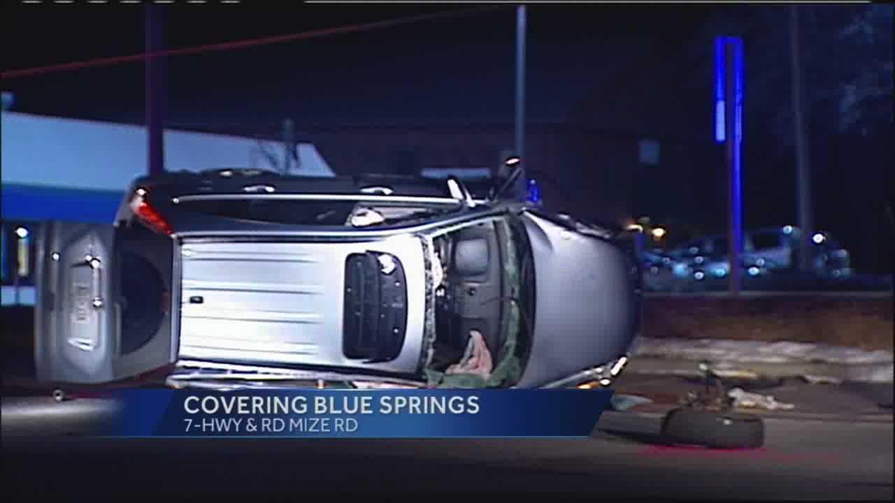 Blue Springs wreck