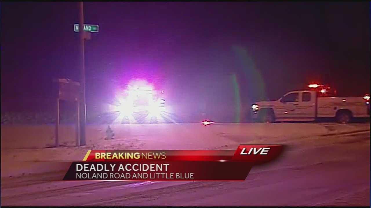 Image woman dies in crash with tree
