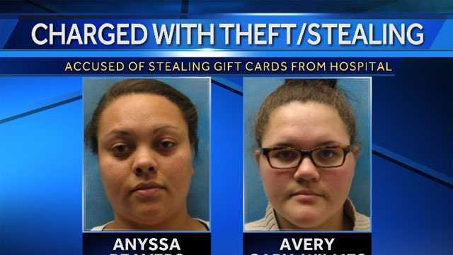 Image Gift card theft suspects