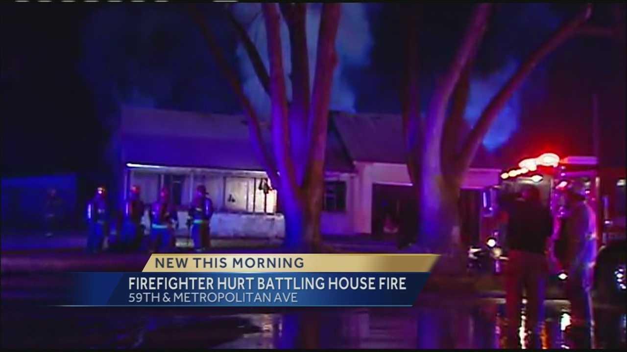 59th, Metropolitan house fire