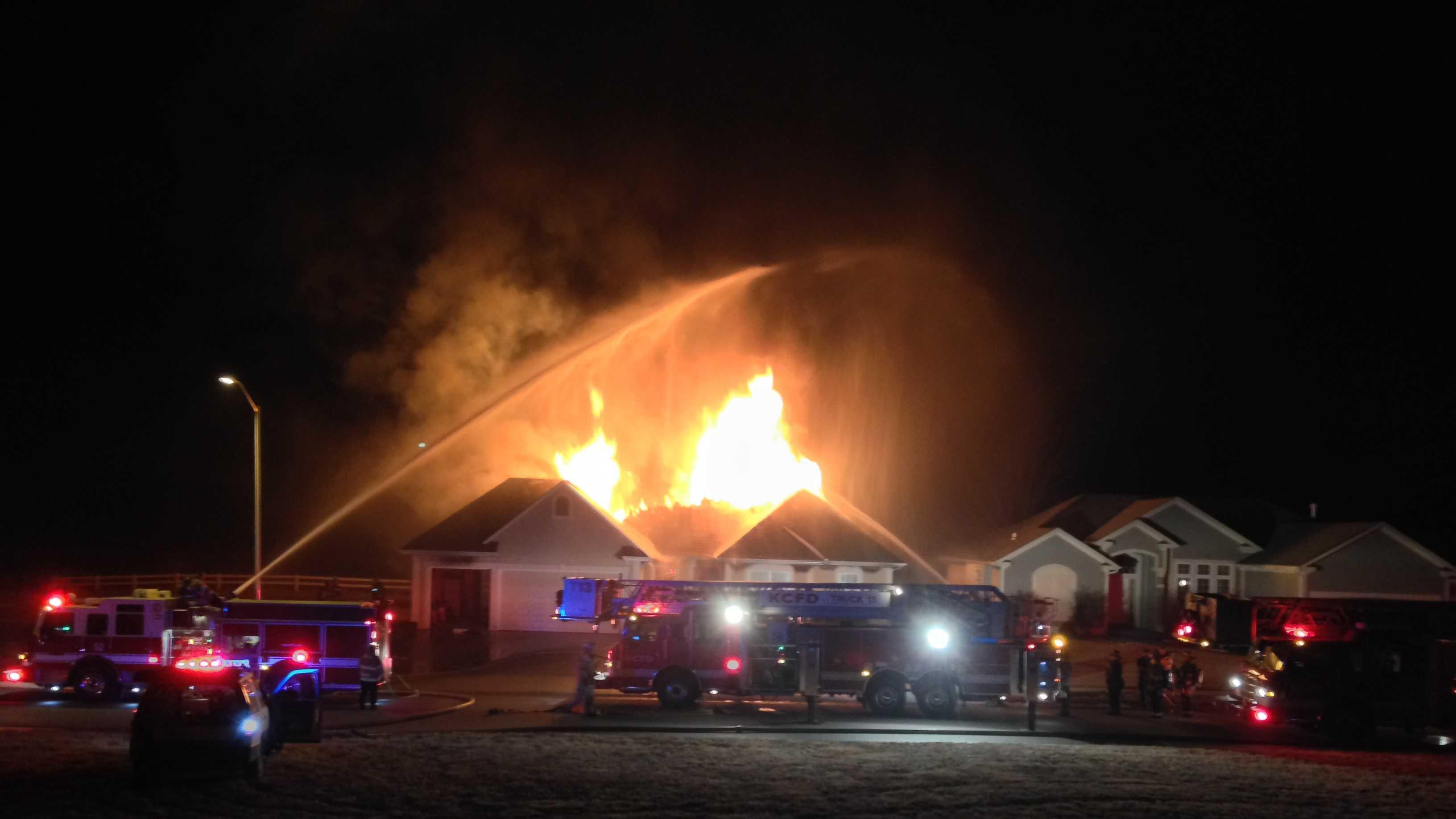 South Kansas City house fire, 89th Street