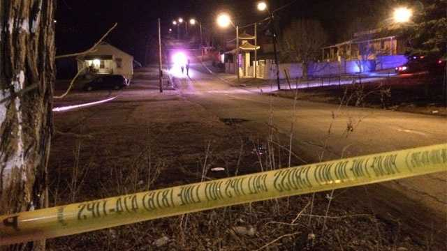 Image KC shooting scene at 16th and White