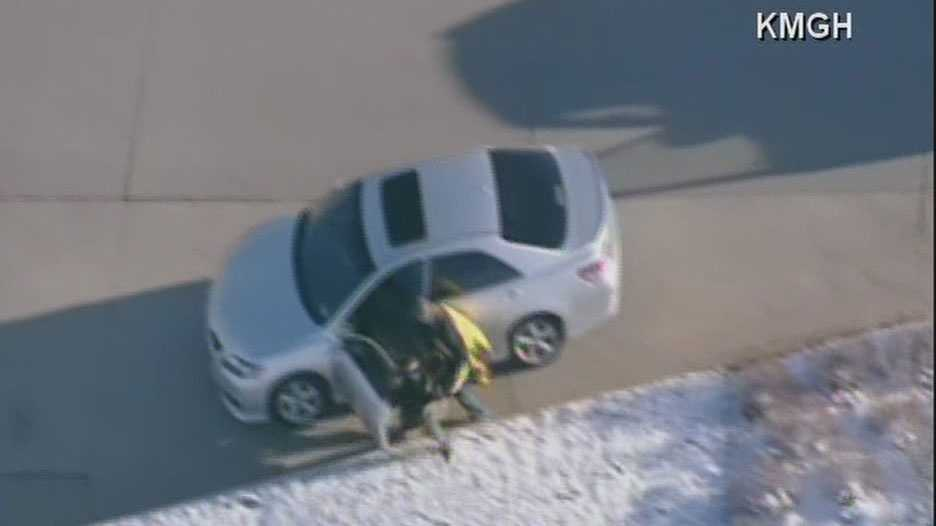 Denver police chase