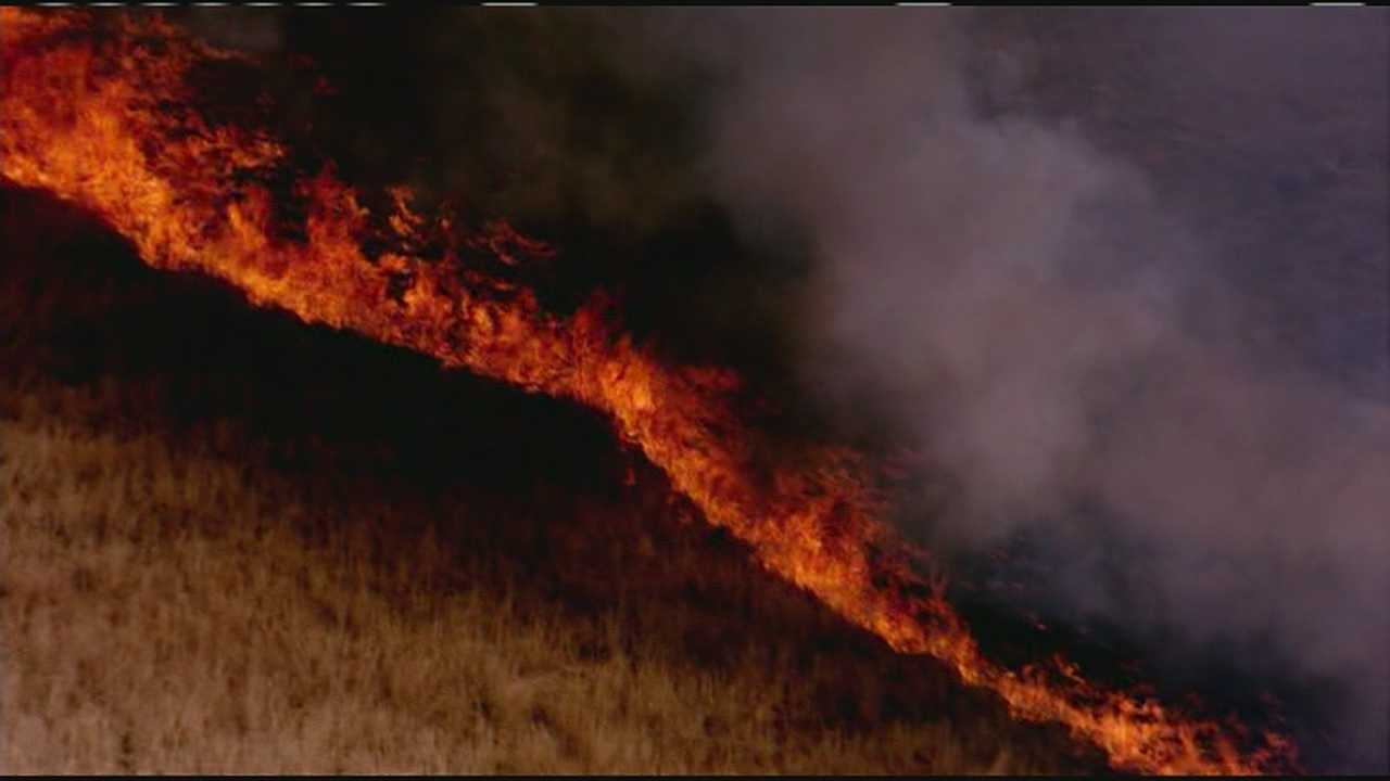 Platte County wildfire