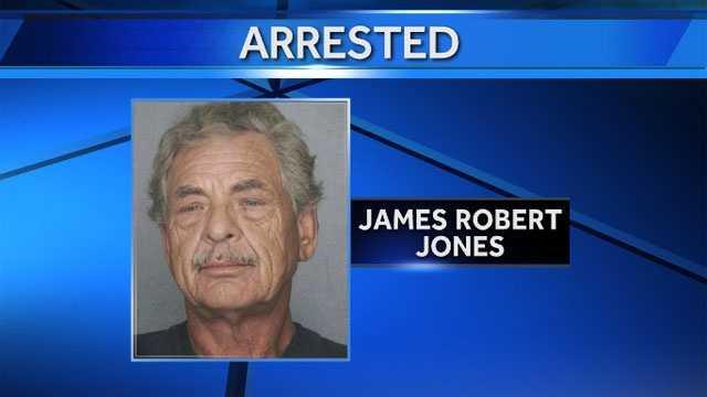 Image James Robert Jones arrested