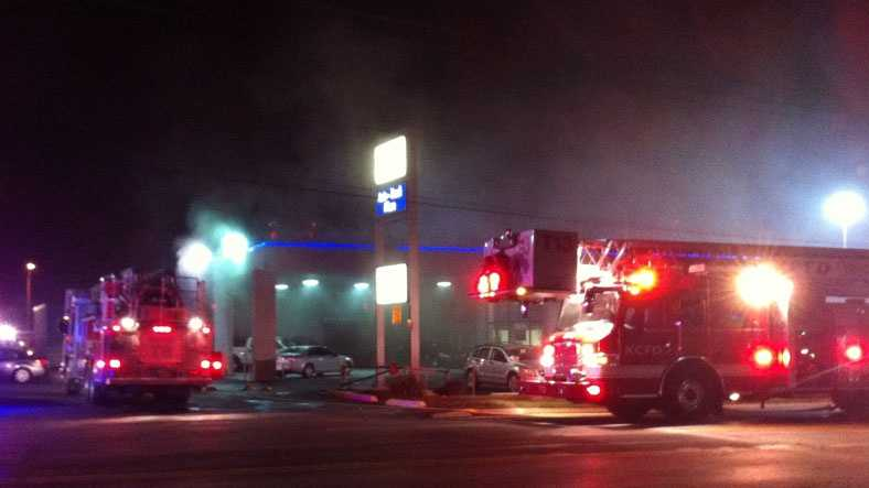 Image Blue Ridge auto fire