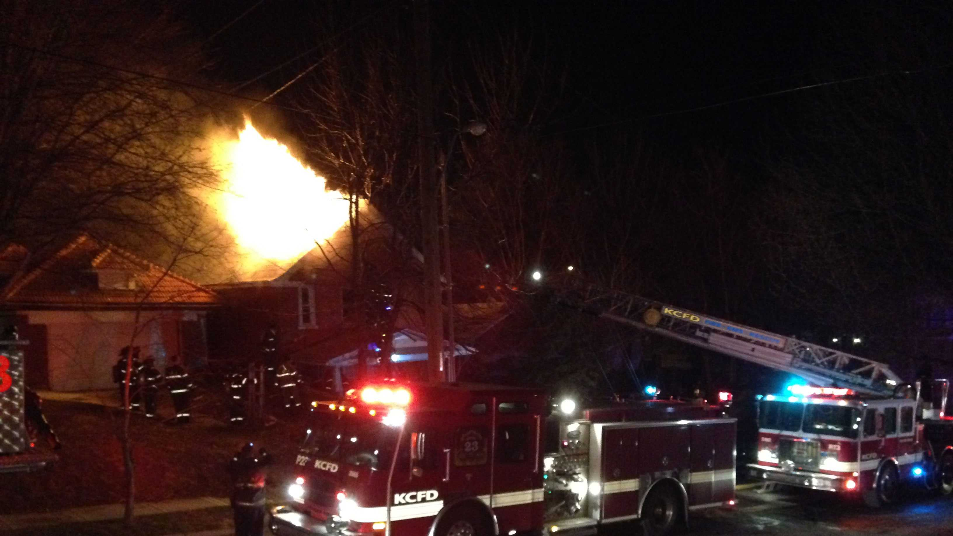 Thompson house fire