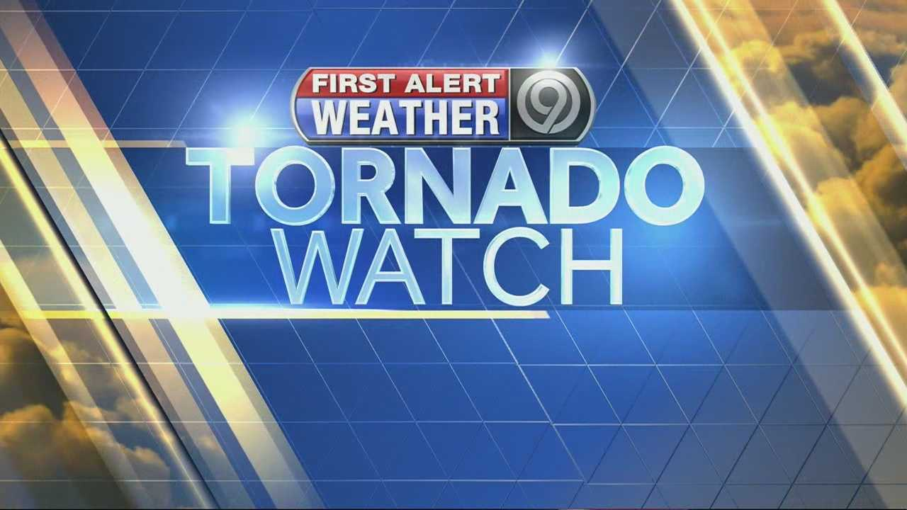 Tornado watch issued for most of metro