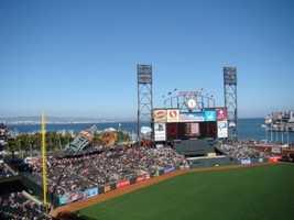 3) AT&T Park, San Francisco, California