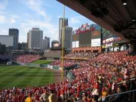 5) Busch Stadium, St. Louis, Missouri