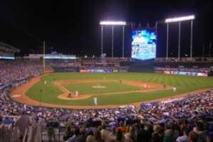 7) Kauffman Stadium, Kansas City, Missouri