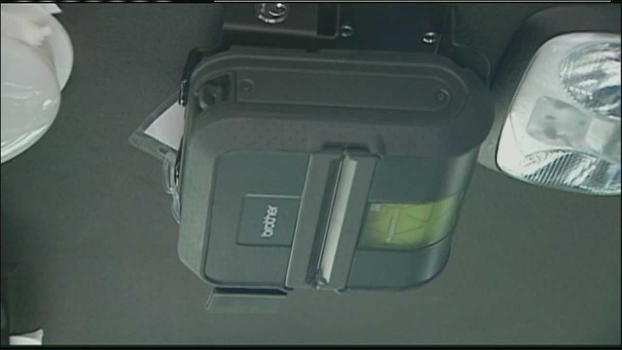 Image Shawnee e-ticketing device