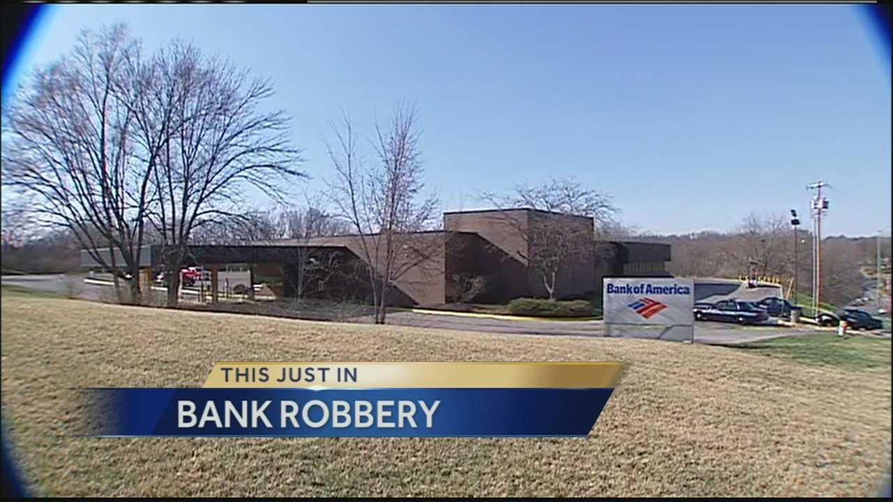 Image Bank of America branch robbed