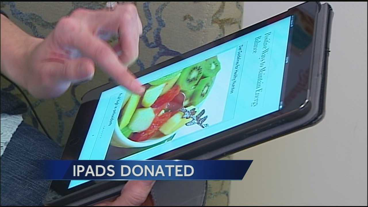 Image iPad donation