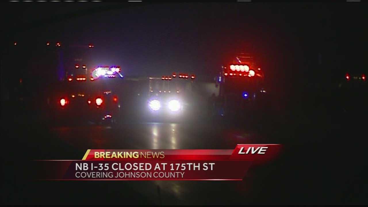 I-35, Old 56 wreck