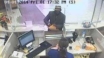 1st Federal Bank Robbery Suspect