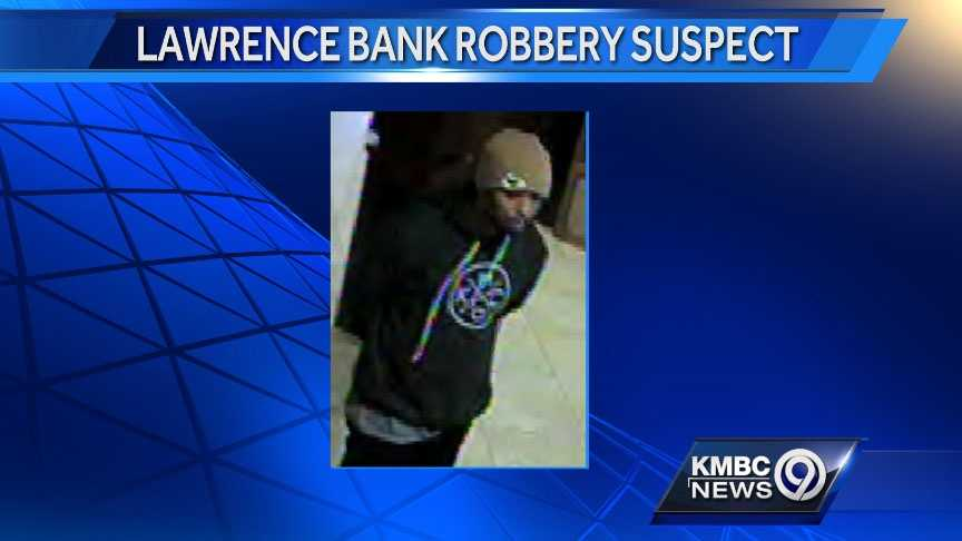 Lawrence credit union robbery Saturday