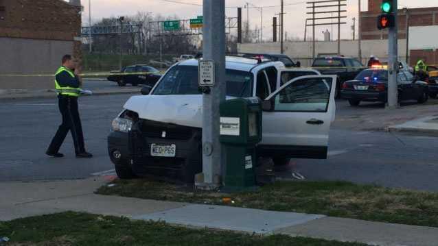 Image Officer-involved wreck