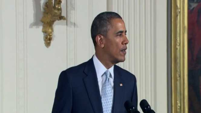 President Obama reacts to Sunday's shootings in Overland Park, Kan.