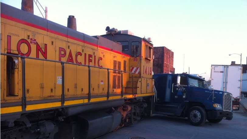 Image Train and truck 2