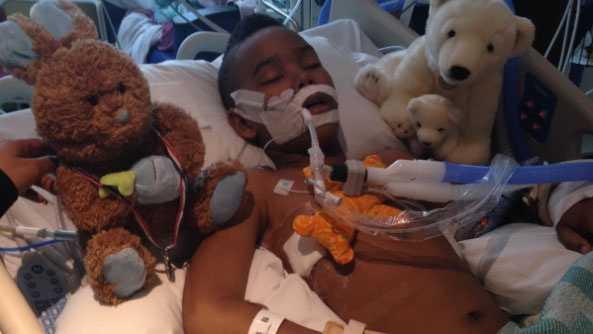 Ka'Vyea Tyson - after surgery