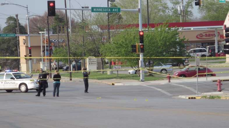 Image KCK shooting at 10th and Minnesota