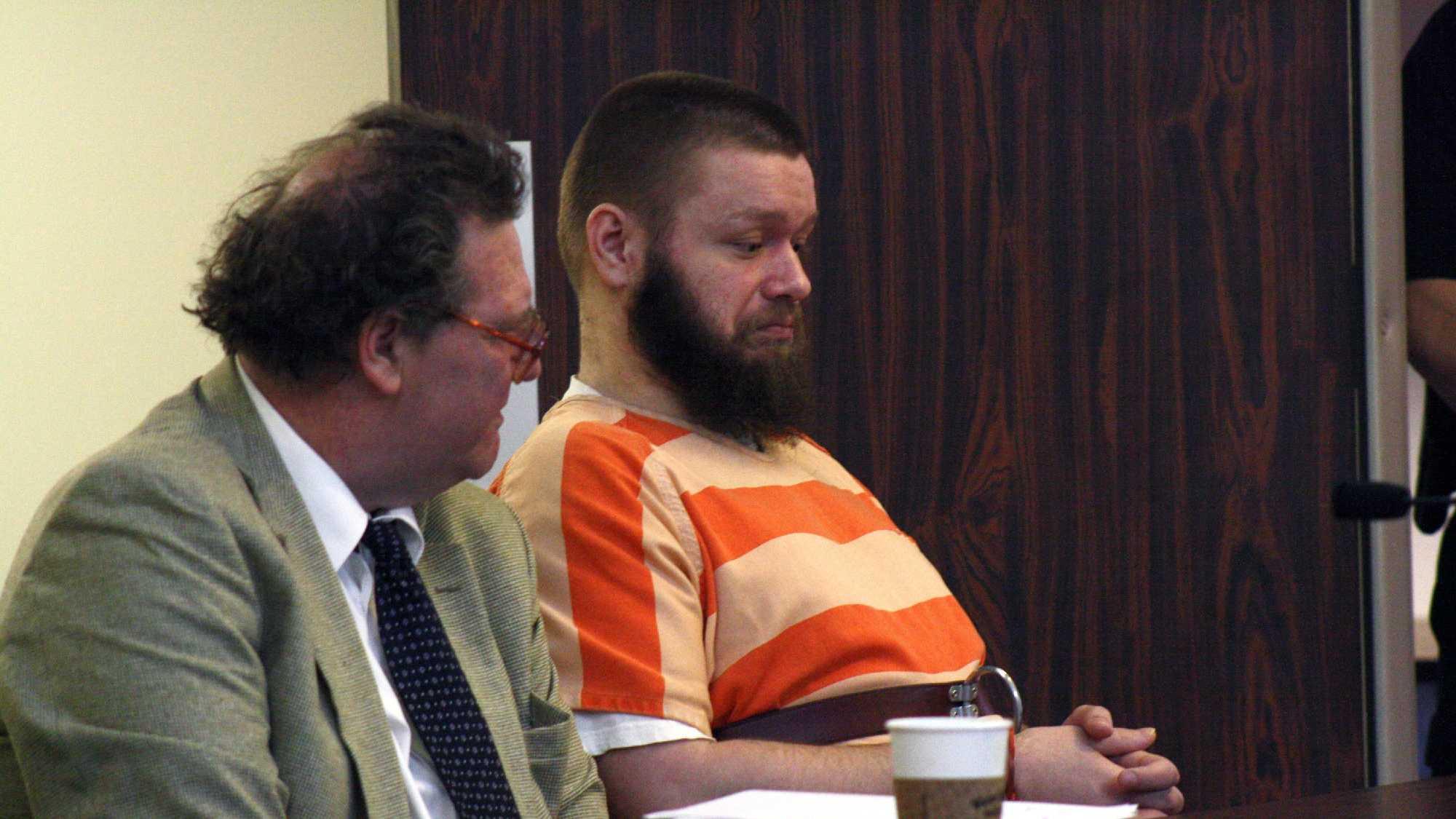 Kyle Flack arraignment image 2