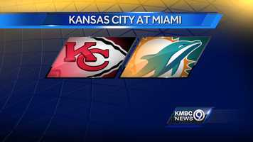 WEEK THREE: The Kansas City Chiefs will play the Dolphins in Miami on Sunday, Sept. 21 at 3:25 p.m.
