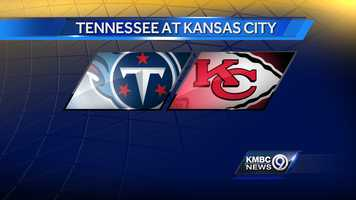 WEEK ONE: The Tennessee Titans will play the Kansas City Chiefs at Arrowhead at noon on Sunday, Sept. 7