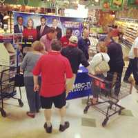 Look for more of these programming events throughout the month of May. Bryan Busby is on the scene!