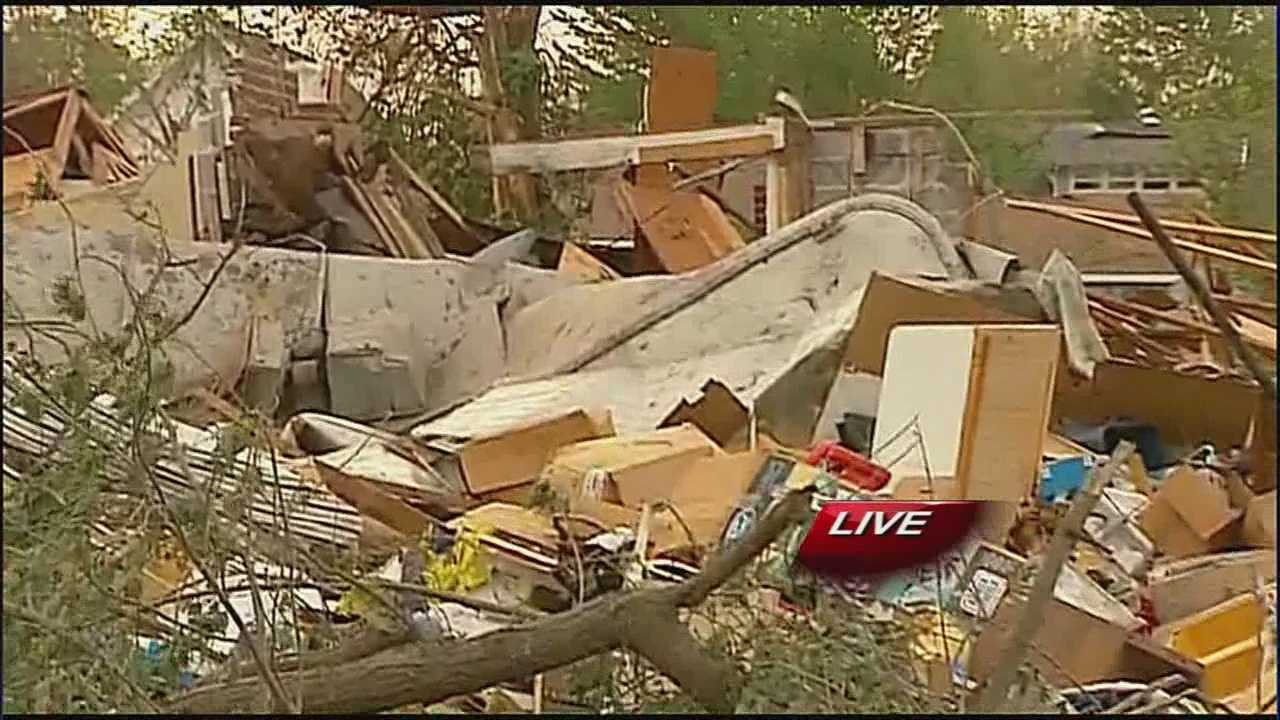 Baxter Springs tornado damage 4