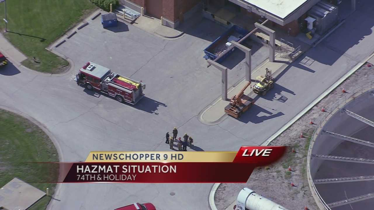 Hazmat situation at WaterOne