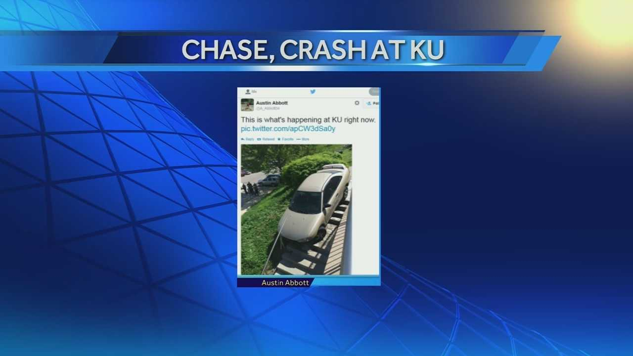 IMage KU Chase and crash